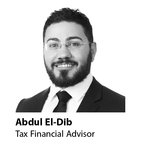 tax financial advisor