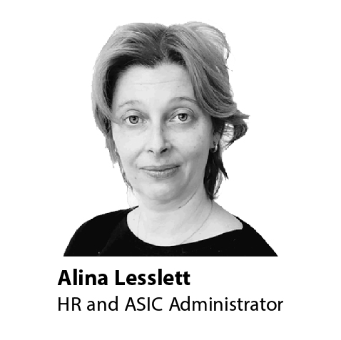 HR and ASIC Administrator
